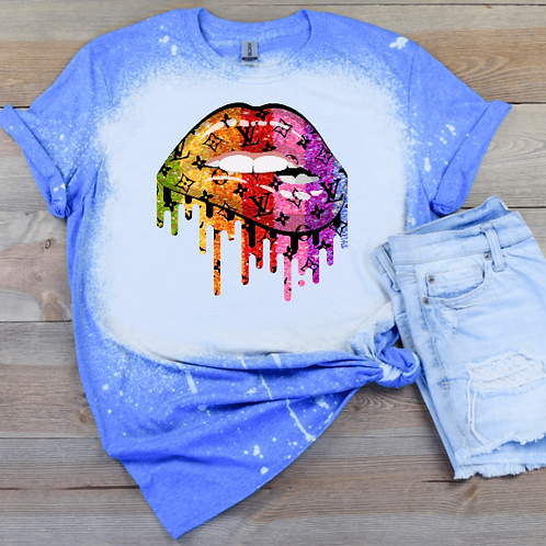 Lips Tie-Dye T-Shirt