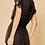 Thumbnail: Black Swiss Dot Dress ~ Black