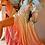 Thumbnail: Chiffon Ruffle Detail Dip-Dyed Maxi Dress
