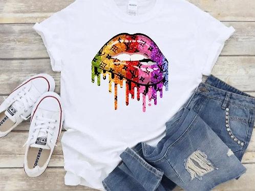 Rainstorm of Love Lips T-Shirt