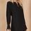 Thumbnail: Cuff Detail Dress in Black