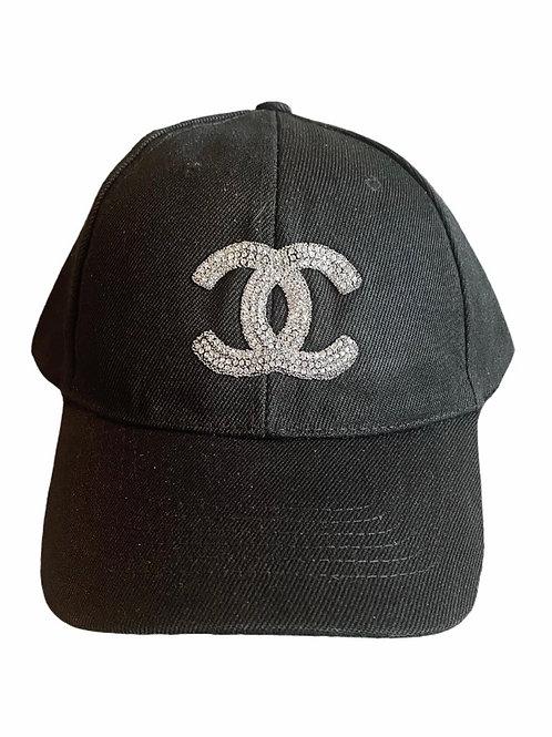 Black CC Baseball Cap