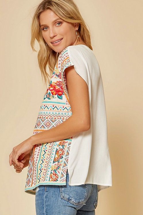 Spring Is Here Floral Top