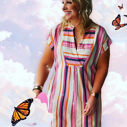 Crush Stripe Dress