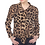 Thumbnail: Leopard Tie Front Button Down Top