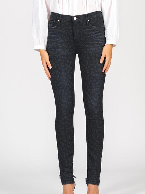 Black Leopard Jeans ~ Black Orchid
