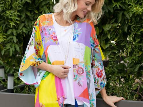 Fun Colorful Kimono