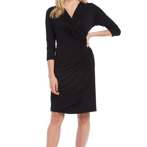 Kate Cascade Wrap Dress