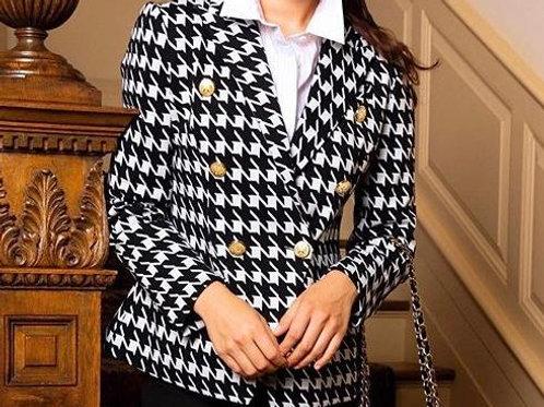 Tyler Boe Houndstooth Jacket