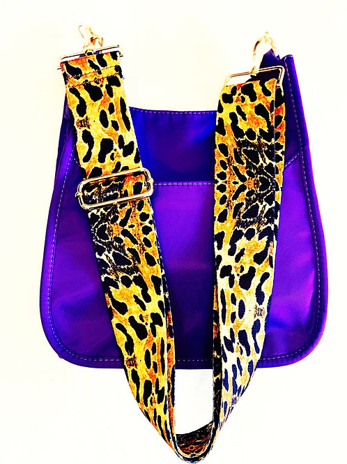 Tiger Crossbody Purple Mini