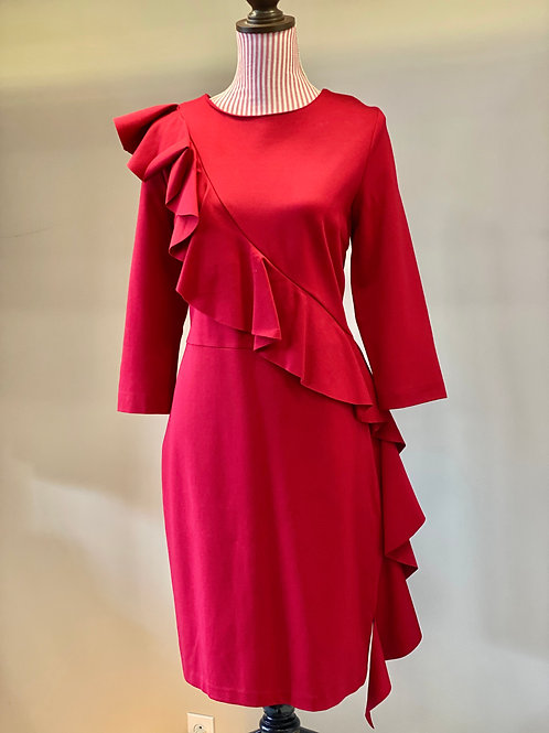 Katherine Barclay Red Dress