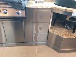 Custom Outdoor Living Cabinets