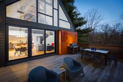 Custom Steel Fireplace Panels