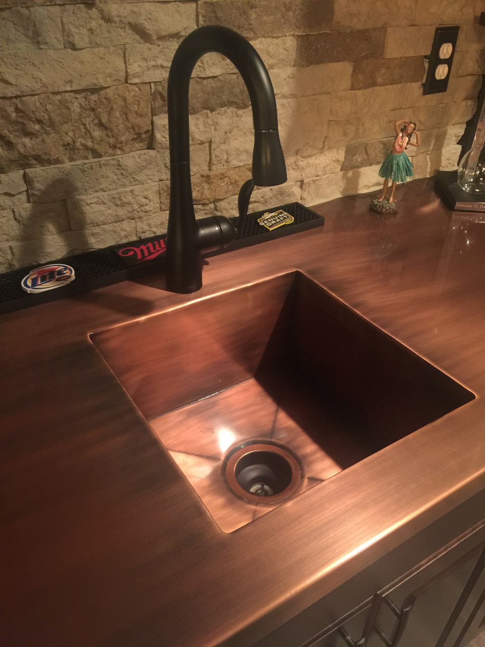 Integrated Copper Sink