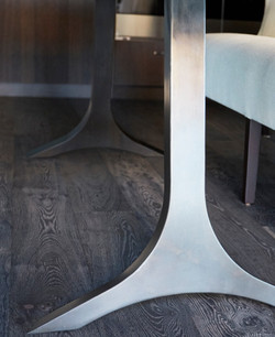 Custom Stainless Table Legs