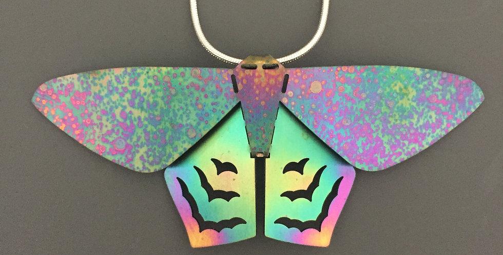 Pent Moth Pendant