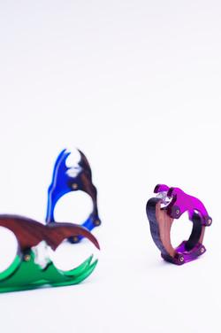 Beetle Ring Sculpture