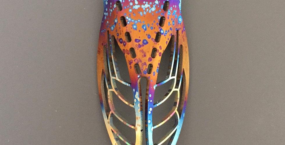 Ti Cicada Pendant