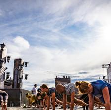 Techno Yoga @ Frequency 2