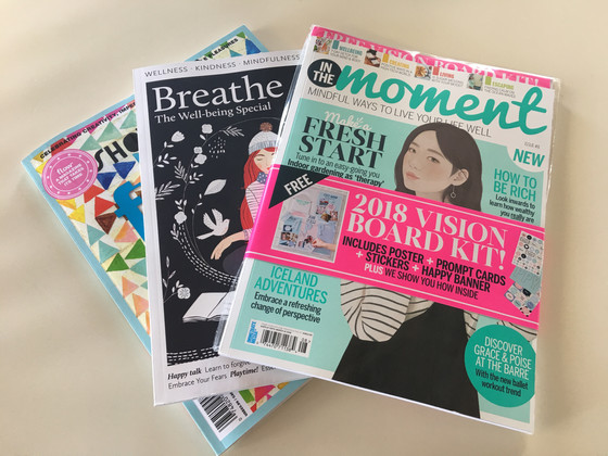 Breathe. Calm. Flow.  Magazines to Soothe Your Soul.