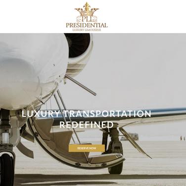 Presidential Luxury Limousine Web Copy