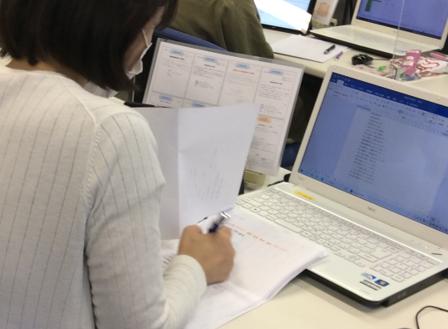 パソコン村 諫早教室 久しぶりの学生です。