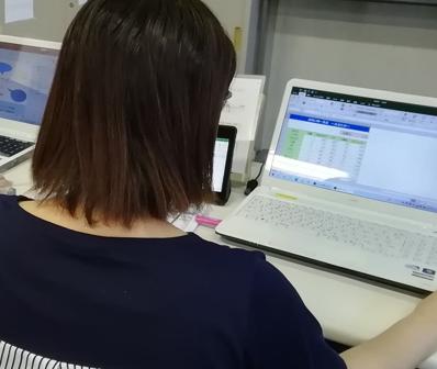 パソコン村 諫早教室 目指すは、2級!!