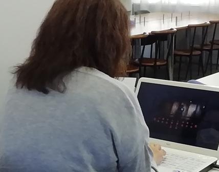 パソコン村 諫早教室 体験教室に来ていただきました。