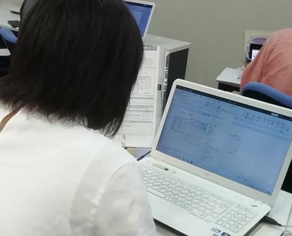 パソコン村 諫早教室 ワード エクセル 2級 取得を目指します。