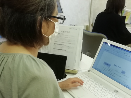 パソコン村 諫早教室 検定対策目前です。