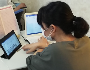 パソコン村 諫早教室 基本から勉強します。