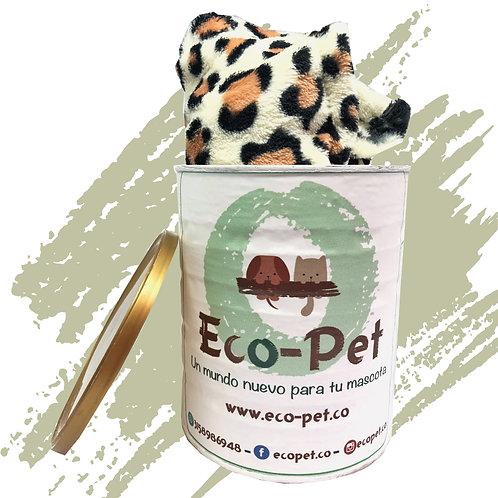 Cobija Animal Print Leopardo 100 c.m. X 100 c.m.