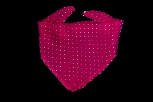 Pañoleta roja puntos blancos