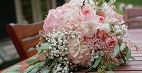 Megan + Jeff | An Intimate Gold and Blush White Haven Wedding
