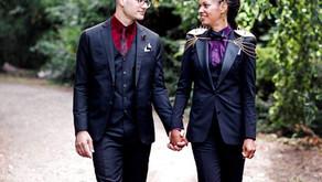 Four Ways to Ditch the White Wedding Dress & Tuxedo