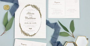 Basic Invite | Affordable Wedding Invitation Cards For The Creative Couples