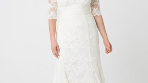 3 Affordable Brands to Watch for Plus Size Wedding Dresses