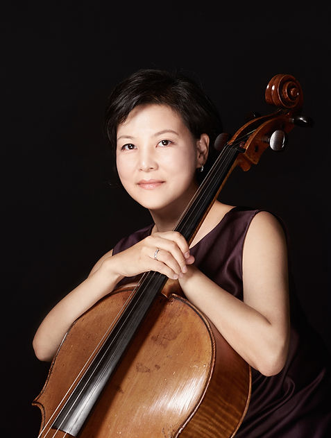 Cellist Sarah Hong