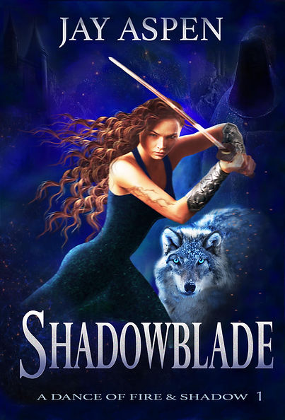 Shadowblade book cover