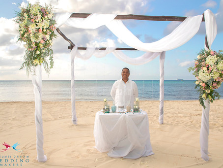 What is a non-denominational wedding officiant?