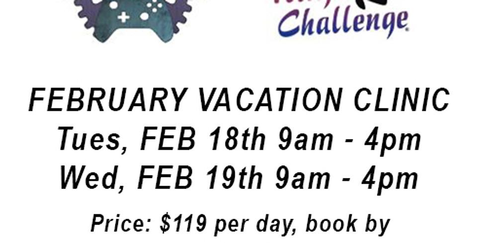 SOGO Action & USA Ninja Challenge February Vacation Clinic