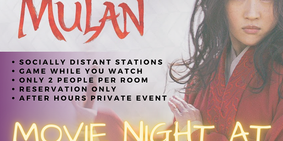 Movie Night at SOGO Action - MULAN (9/25)