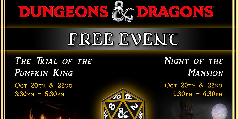 Dungeons & Dragons - Trial of the Pumpkin King - Tuesday