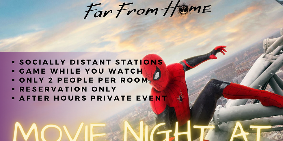Movie Night at SOGO Action - Spiderman - Far From Home (10/2)