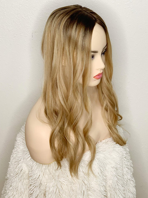 "Stockholm Blonde 20"" -Longer Dark Root"