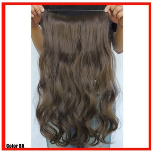 Medium ash brown 8a princess tresses luxury hair extensions 20 synthetic hair extension pmusecretfo Choice Image