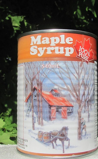 Maple Syrup 540 ml Can