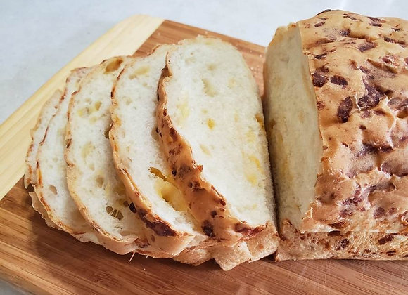 Home baked Cheese Bread