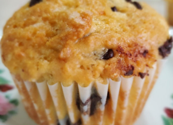 Sour Cream Chocolate Chip Muffin