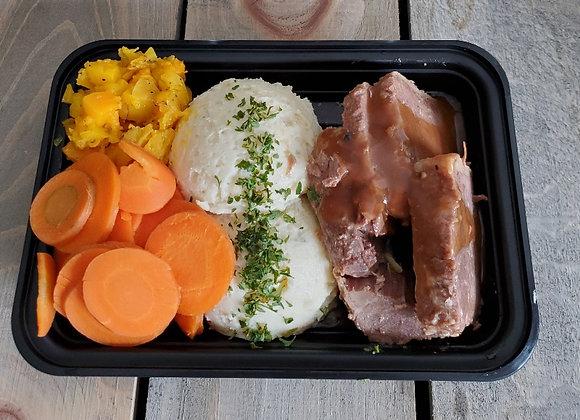 Grass - Fed Roast Beef Dinner